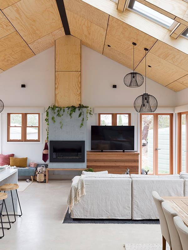 Skylights and a hidden TV, what's not to love?