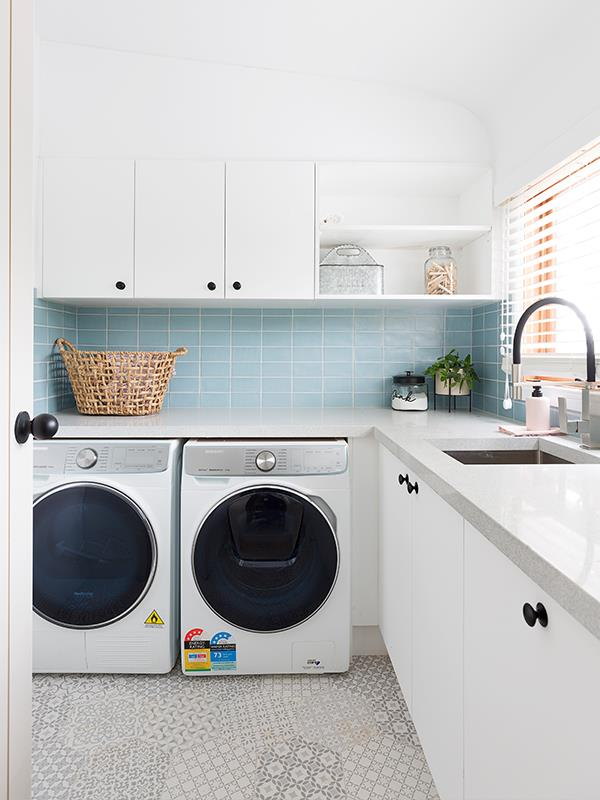 But hey, we'd actually be keen to do our chores in here!