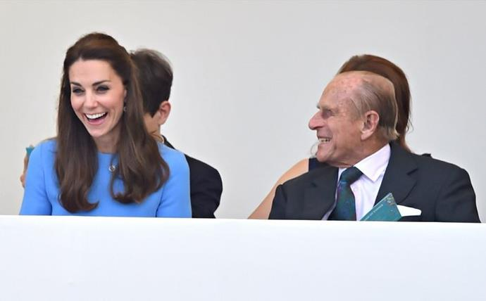 And it's clear he cracks up Duchess Catherine as well!