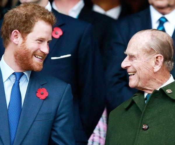 "Sussex Royal shared two photos of the Duke with the sweet caption, ""Wishing His Royal Highness The Duke of Edinburgh, Sir, Grandpa a very Happy 98th Birthday! 🎂"""