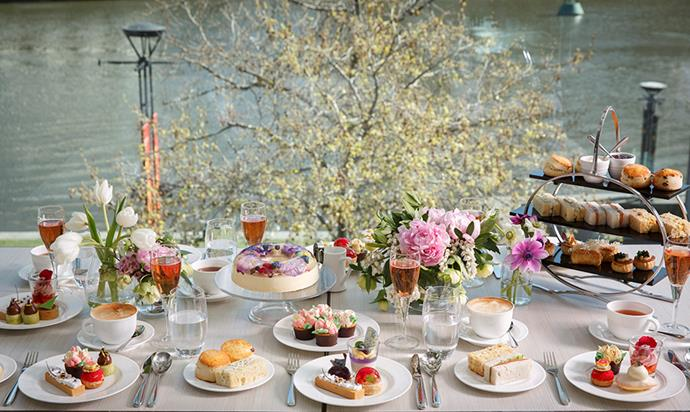 """A high tea fit for a Queen — and for sharing on social media — at [Conservatory](https://www.crownmelbourne.com.au/restaurants/premium/conservatory