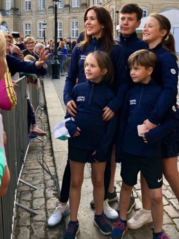The Danish royals are an active bunch and the whole family took part in Copenhagen's Royal Run event.