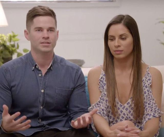Justin and Neesha have signed up for *The Super Switch* to fix their troubled relationship.