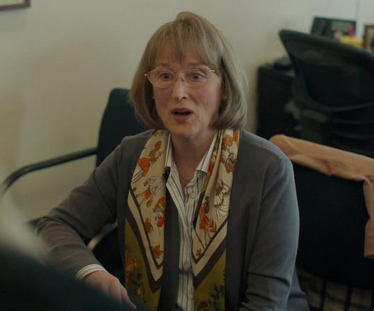 "**Meryl Streep**  The iconic Oscar-winning actress plays Mary-Louise, Perry's mother, who arrives in Monterey to figure out exactly how her son died - and who is responsible. Meryl is absolutely incredible - albeit terrifying - in this role and [some fans are already predicting](https://www.nowtolove.com.au/celebrity/tv/meryl-streep-scream-56332|target=""_blank"") the 70-year-old's pitch-perfect performance will win her a coveted Emmy Award."