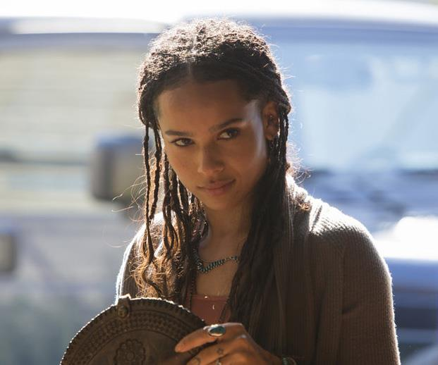 **Zoe Kravtiz** Zoe Kravitz's character Bonnie is one that could be easy to loathe, but someone the talented musician and daughter of the great Lenny Kravitz has managed to make this role extremely empathetic. We're here for her amazing boho-chic outfits and love that she's now officially be inducted into the Fab Four's Monterey clan.