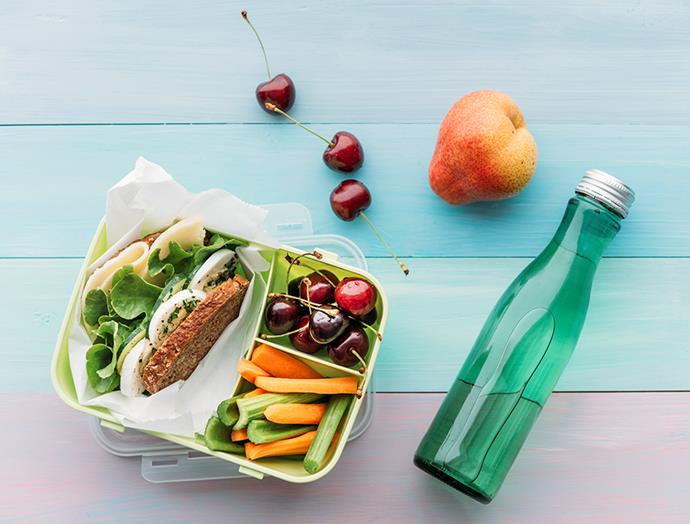 Taking the time to pack a healthy, balanced lunch will save you eating high-sugar takeaway meals.