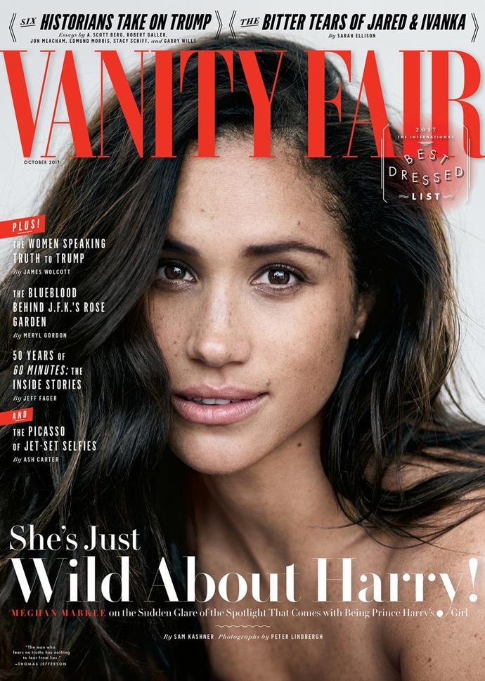 Duchess Meghan has had experience with magazines, most famously for her *Vanity Fair*