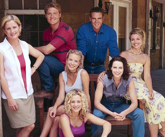 The *McLeod's Daughters* team were like a second family to Bridie.