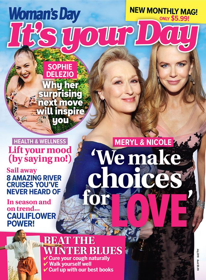 New monthly magazine *It's Your Day* is on sale now.