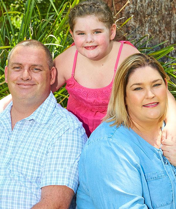 Emily's condition has been a huge financial strain for Tam and husband Matt.