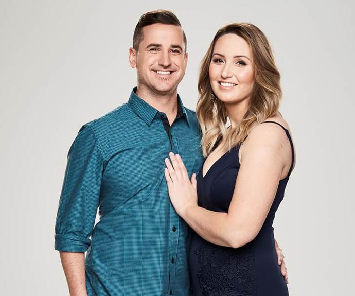Marcus and Aimee have been dating for a year after meeting on Facebook.