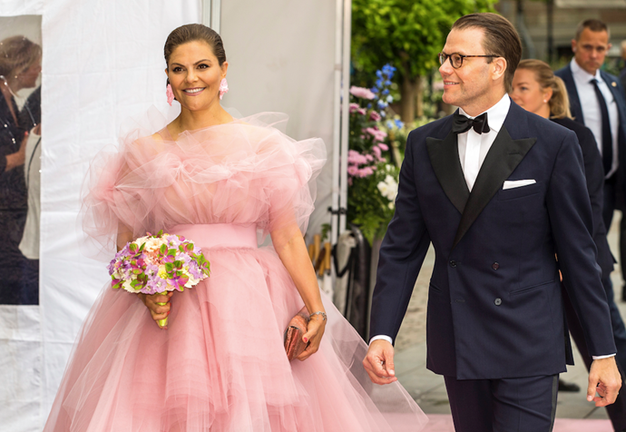 "**Crown Princess Victoria of Sweden** <br><br> Talk about a Kendall Jenner moment! In a dress none of us were expecting, Crown Princess Victoria of Sweden looked *stunning* in this [Kendall Jenner-inspired](https://www.elle.com.au/fashion/kendall-jenner-trend-she-hates-20214|target=""_blank"") pink tulle gown for the Polar Music Prize 2019 Awards Ceremony in June. What a vision!"