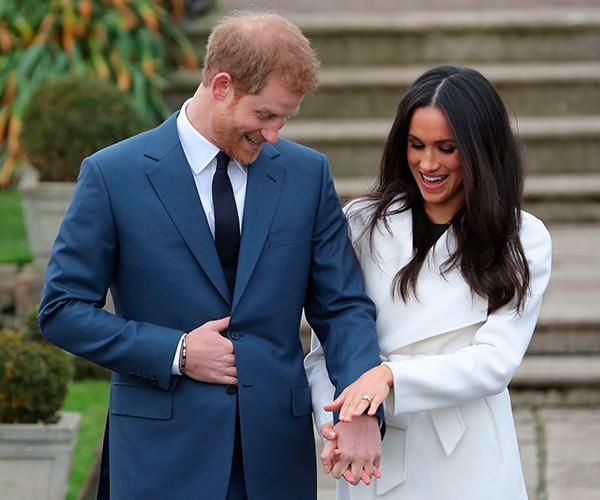 Even Meghan's ring has ties to Africa so we know this is going to be one special trip.