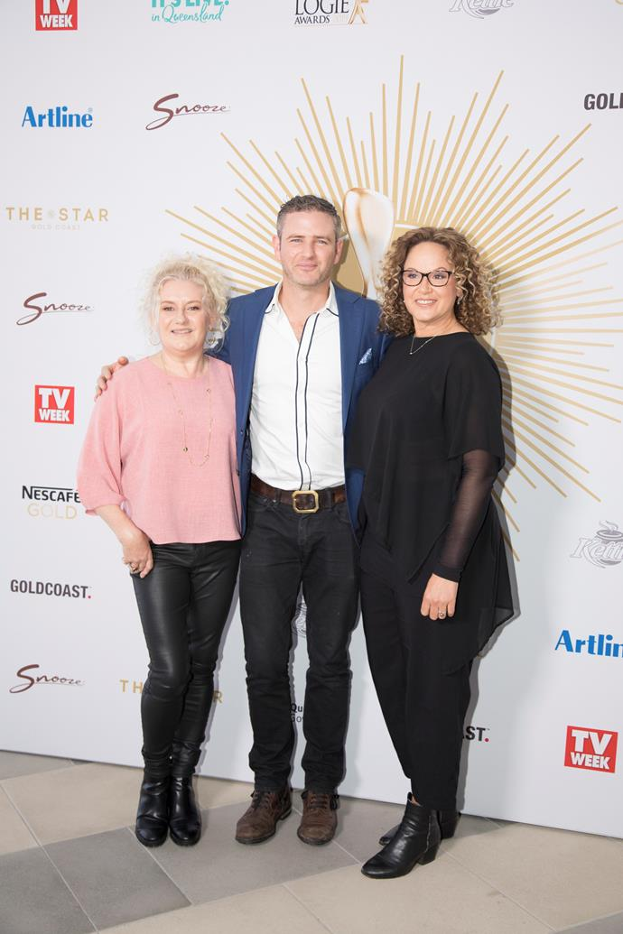 Celia, Bernard and Leah are nominated for this year's Logies.