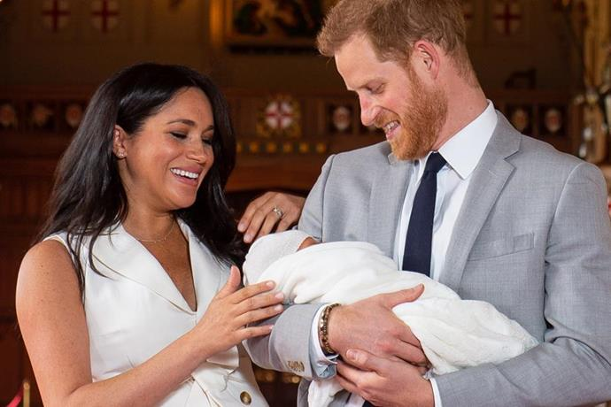 Baby Archie's christening isn't too far away...