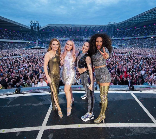 The Spice Girls have broken a few hearts this morning.