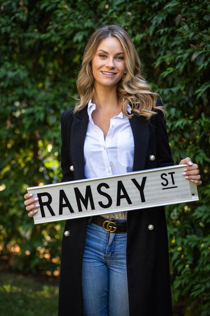 Christie Whelan Browne is coming to Ramsay Street!