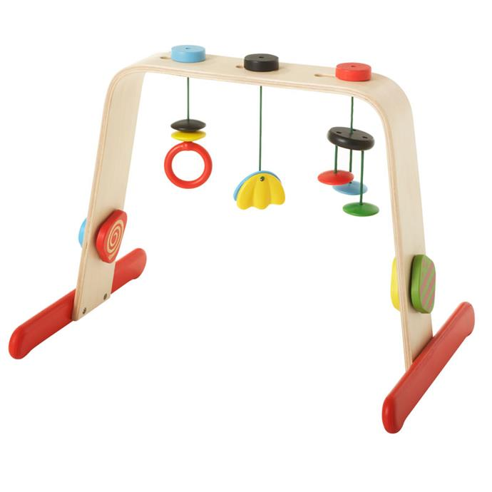"""The [LEKA baby gym](https://www.ikea.com/au/en/catalog/products/60167704/