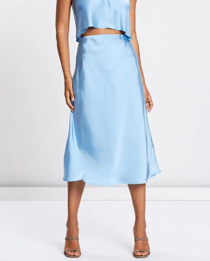 "This gorgeous silk-style option by Lulu & Rose is all kinds of chic. Buy it from The Iconic for $79.95 [here](https://www.theiconic.com.au/gigi-skirt-790728.html|target=""_blank""