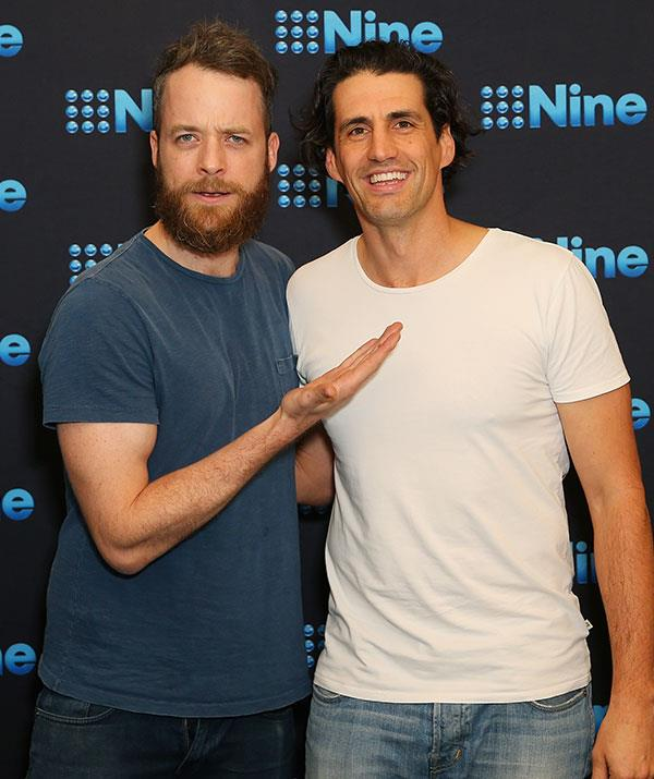 Beloved comedians Hamish Blake (left) and Andy Lee (right) have always been closely associated with the Logies.