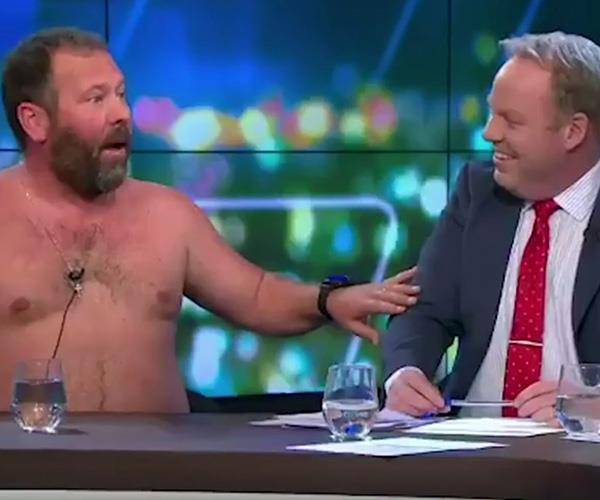 Comedian Bert Kreischer left mixed reviews.