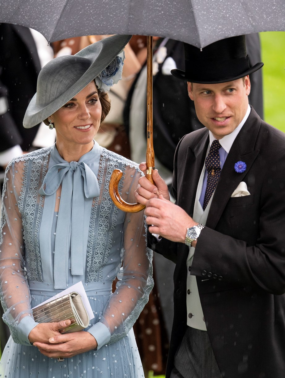Kate and William at the opening day of this year's Royal Ascot. *(Image: Getty)*