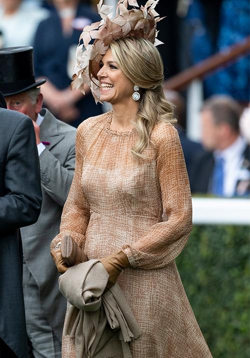 """From the [Order of the Garter Service](https://www.nowtolove.com.au/royals/british-royal-family/kate-middleton-order-of-the-garter-56465 target=""""_blank"""") in Windsor on Monday to Royal Ascot on Tuesday! Queen Maxima of The Netherlands has really made the most of her trip to the UK."""