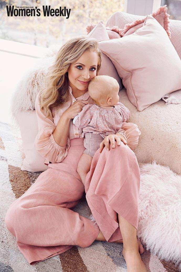 Carrie has been open and honest with her followers about the struggles of new motherhood - and women adore her for it.