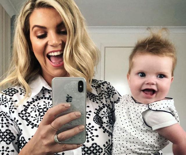 "Last year's Logies was a weekend of ""firsts"" for Rebecca's daughter Ruby (pictured) who was only nine weeks old at the time."