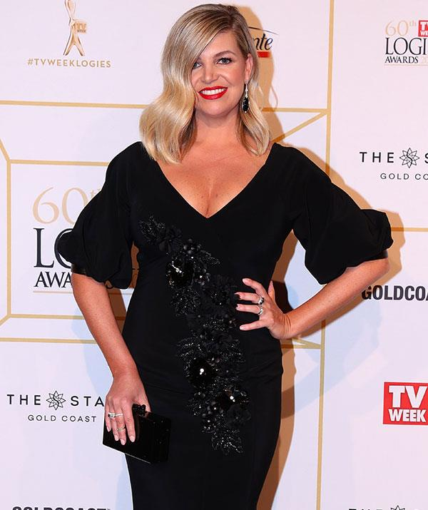 "Rebecca admits getting ready for the Logies is more ""last-minute"" now that she's a mother."