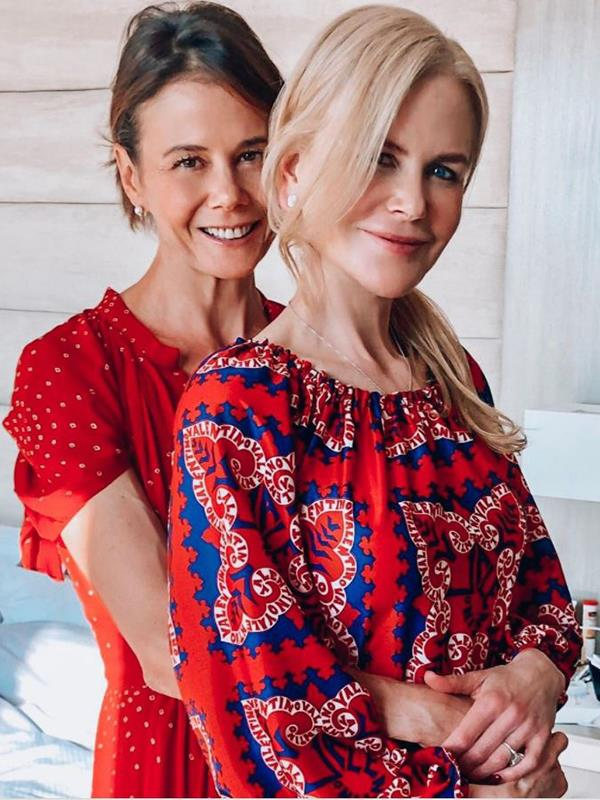Those Kidman genes are strong: Nicole and big sister Antonia have certainly aged gracefully.