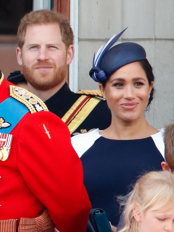 The Sussexes balcony exchange has left fans shocked.