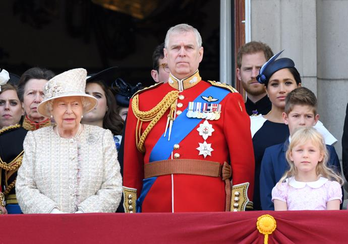 Were they or weren't they? In this image, it seems all the royals were feeling a little tense!