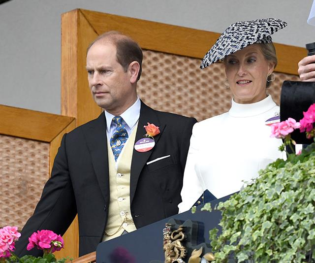 Prince Edward and Countess Sophie opted to stay away from the crowds on their 20th anniversary.