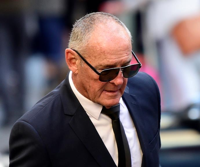 Chris Dawson leaving Downing Centre Court in Sydney.
