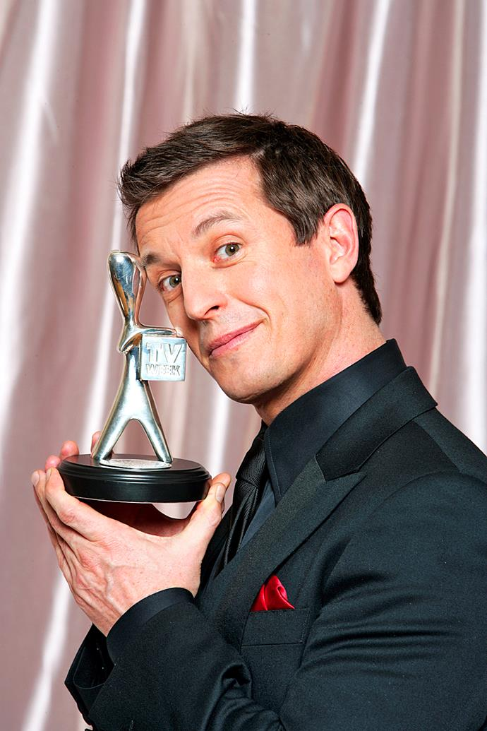 One of seven Silver Logies Roves has won for Most Popular Presenter.