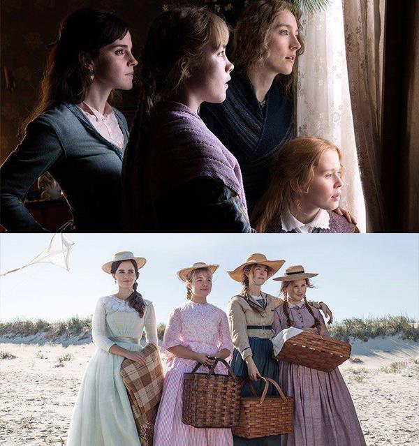 First look at Emma Watson & Saoirse Ronan in Little Women