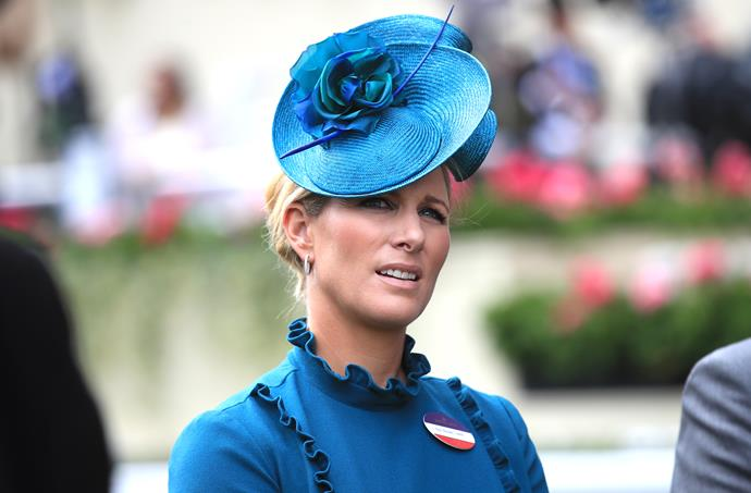 Did she or didn't she? Zara certainly tested the dress code limits at Royal Ascot!
