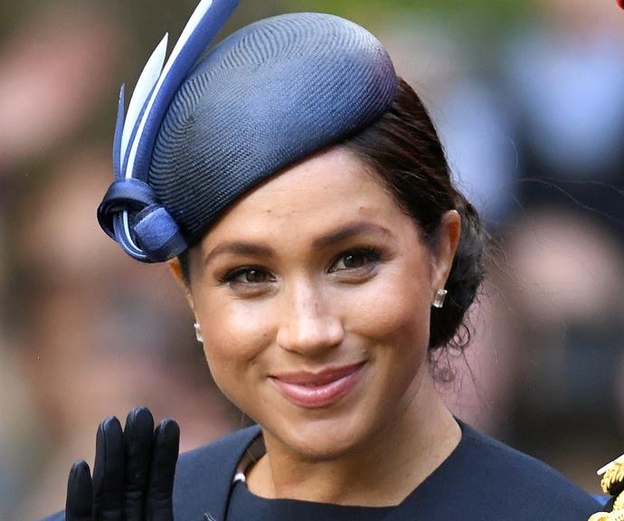 Pictured just weeks after giving birth to Archie, Meghan still looks incredible!