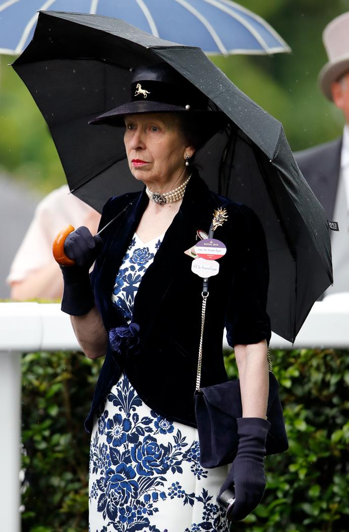 "Meanwhile, Princess Anne also looked just as fetching - in an almost matching pearl choker of her own! [Royal twinning moment](https://www.nowtolove.com.au/fashion/fashion-news/camilla-princess-anne-twinning-56536|target=""_blank"") alert!"