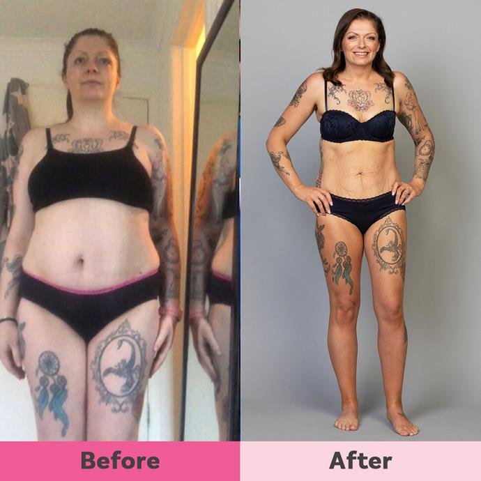 Megan's not only lost 30kg but has an amazing man and new friends too!