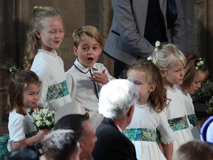 Even dad Prince William might be joining in the festivities of this particular wedding!