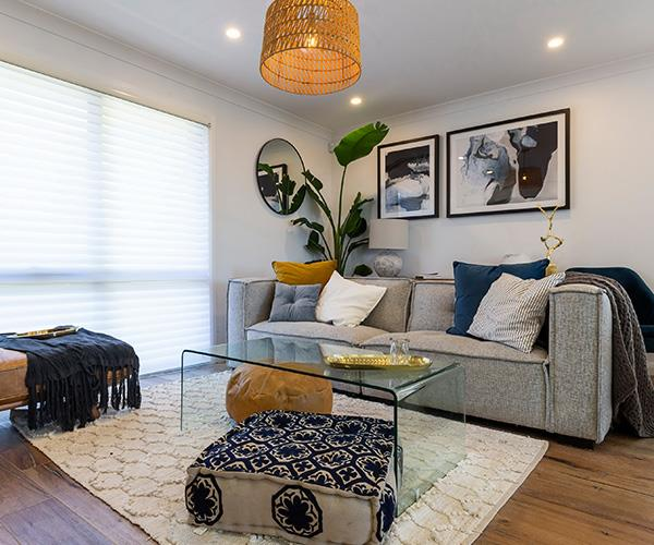 Enter Pete and Courtney, who've made it a modern and bright room that the whole family loves.
