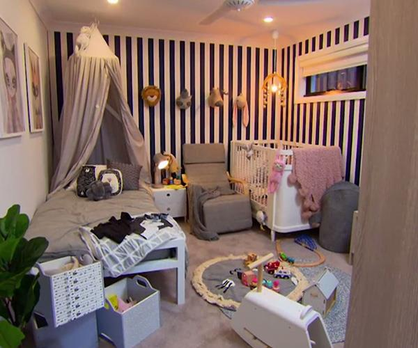 They may not be parents themselves, but Lisa and Andy styled the kids' room perfectly.