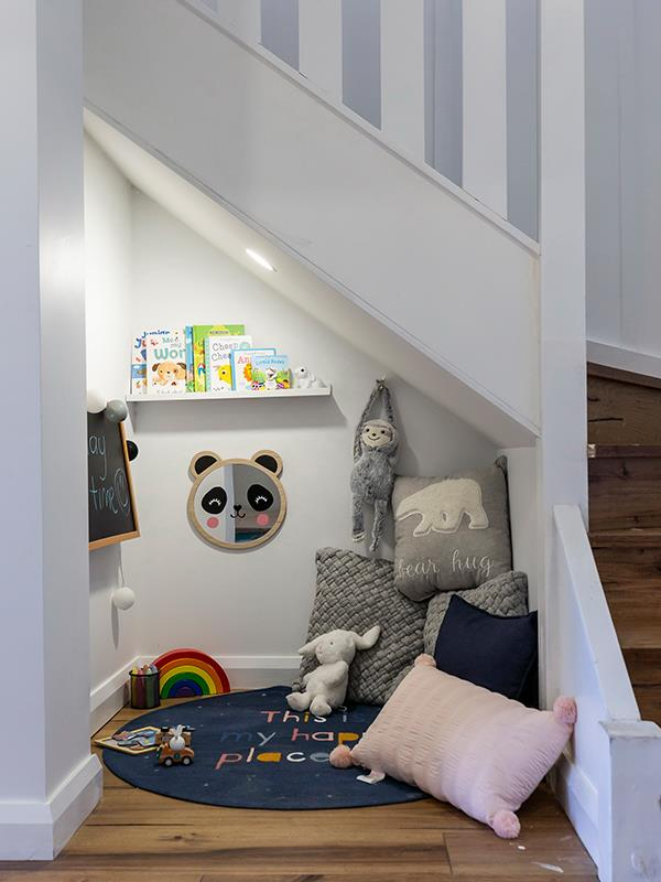 And they even added in a little kids' nook!