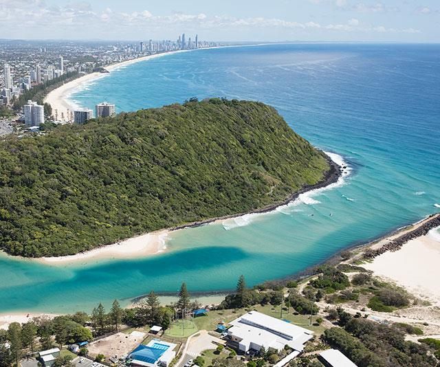 """They have the best beaches,"" says Rebecca of the Gold Coast, who loves getting outdoors when she's visiting."