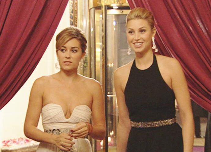 In what might be one of the show's saving fashion moments, Whitney's Crillon Ball ensemble worn during her trip to Paris was undeniably chic - those earrings!