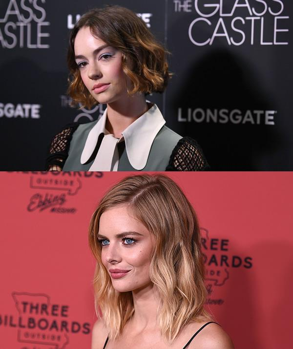 Top: Lundy-Paine will play Billie Logan *(AFP Photo)*, bottom: Weaving will play Thea Preston *(Shutterstock)*.