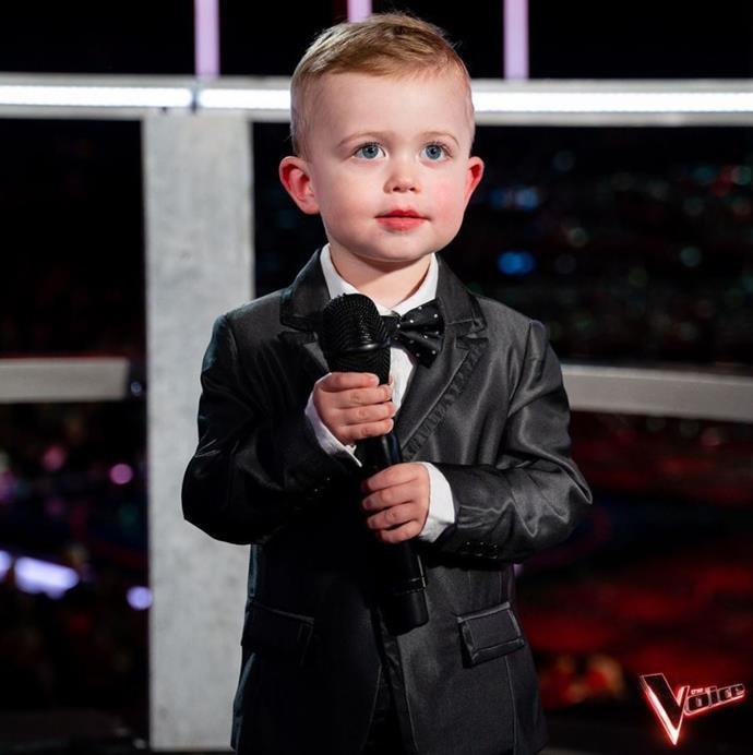 Rebecca's son, JJ.