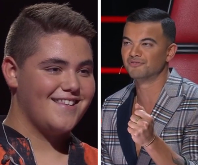 Guy (right) is concerned Jordan (left) might end up like Jack Vidgen.